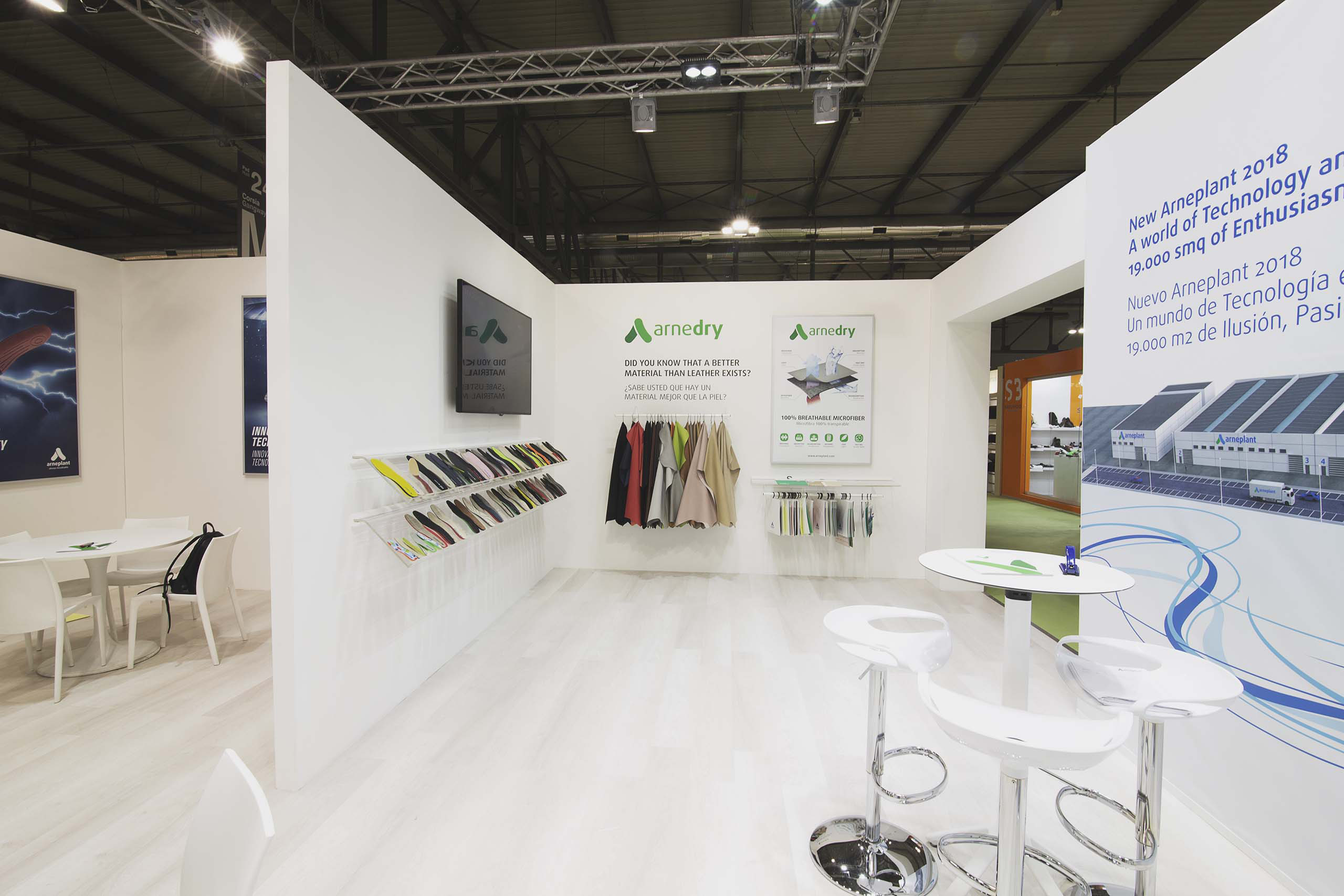 Stand Arneplant Lineapelle